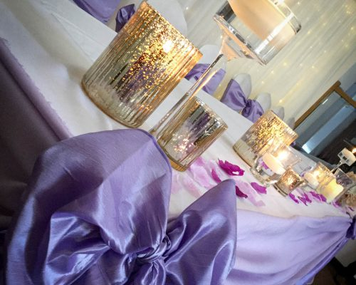 top table candles