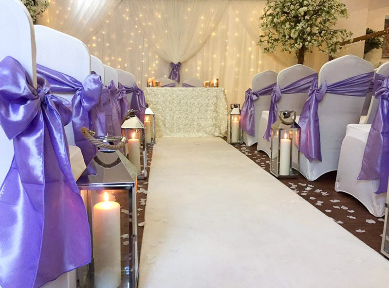 Wedding Ceremony Decoration Ideas Elf Occasions Venue Styling Essex